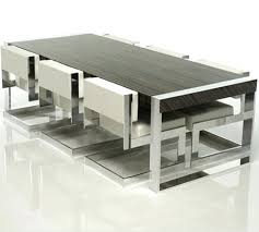 6 seat dining table the dining table breathe modern leather seat dining room chairs 6 seat 6 seat dining table
