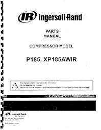 ingersoll rand p185 wiring diagram ingersoll wiring diagrams