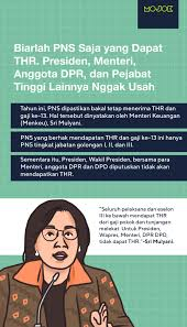Find and reach pt khong guan biscuit indonesia's employees by department, seniority, title, and much more. Sri Mulyani Pastikan Pns Tetap Dapat Thr Dan Gaji Ke 13 Mojok Co