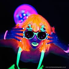 pildiotsingu neon uv party tulemus black light makeupneon