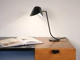 adjule metal desk lamp antony by serge mouille