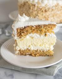 Carrot Cake Cheesecake Cake Recipe Tss Pinterest Carrot Cake