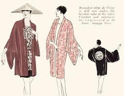 Kimono Robe Pattern Mesmerizing 48's Robe Or Kimono Coat 48 48 Mrs Depew Vintage