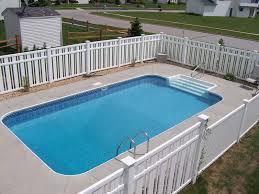 Rectangular Inground Pools 16 X 32 Rectangle Swimming Pool Kit With 48  Steel Walls Royal