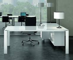 southern office furniture pure white glass executive desk within ideas 17