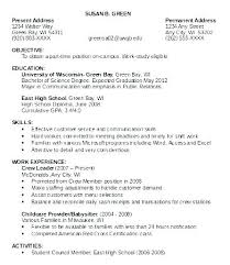 First Time Job Resume Resume Format For Teens Awesome First Time ...