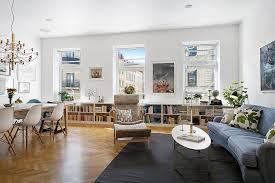 Image Small Space Collect This Idea Apartment Living Room Freshomecom Refined Scandinavian Apartment Inspiring Joyful Home Decorating