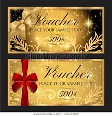 Gift Voucher Template Printable Christmas Gift Royalty