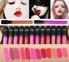 38 colors matte lipstick high