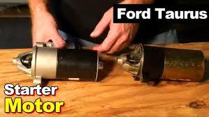 2003 ford taurus starter motor replacement