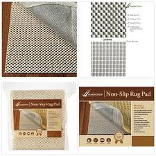 doublecheck s non slip rug pad thick padding and supper grip size 7 x10