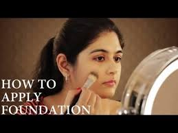 how to apply foundation on indian skin