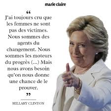 Hillary Clinton En 10 Citations Marie Claire
