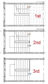 Stairs Floor Plan Elevation Stairs Pinned By Wwwmodlarcom Floor Plans With Stairs