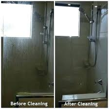 mesmerizing cleaning glass shower doors with vinegar soap s on shower door how to easily clean