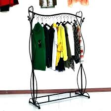 Coat Racks Australia Delectable Metal Clothes Rack With Shelf Best Coat Rack Ideas On Shelf Garment