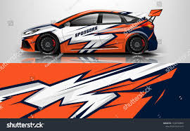 Design Racing Design Race Vehicle Vector Advertising Design