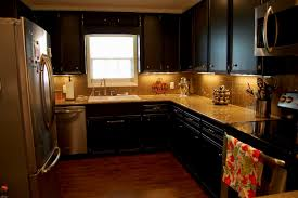 Distressed Black Kitchen Table Black Distressed Kitchen Cabinets How To Paint