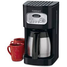 Thinking of getting a coffee maker with thermal carafe? Cuisinart Dcc 1150bk 10 Cup Programmable Thermal Coffee Maker Black Stainless Steel 2 Per Case Price Per Each