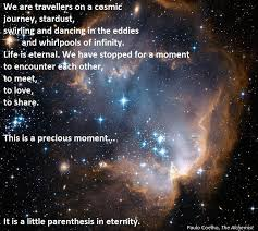 Paulo Coelho Quotes Amazing We Are Travellers On A Cosmic Journey Paulo Coelho The