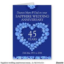 45th wedding anniversary gift ideas for pas