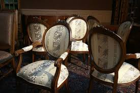 dining room chairs upholstery material. upholstered in muslin and ready for your own fabric ! dining chairs room upholstery material a