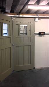 Interesting Sliding Garage Doors Youtube And Modern Design