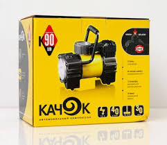 <b>Качок</b> К90 LED – автомобильный <b>компрессор</b>, тест