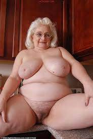 Granny with sexy big ass
