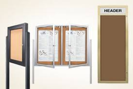 Display Boards Free Standing Outdoor Display Cases Com Offers The Widest Selection Outdoor 96