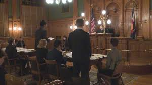 students take part in mock trial competition