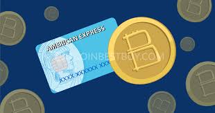 american express cards are one of those new options as the method was deemed as unsafe by businesses selling coins