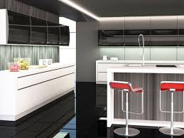 aluminum kitchen doors with frosted glass