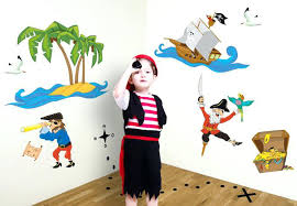 kids pirate room decor marvellous inspiration ideas pirate wall decor together with decal set a cute