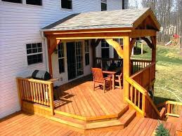 covered deck ideas. Covered Deck Ideas Best Designs On Patio 1 Wood Rail