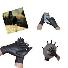 Amazoncom Tattoo Gloves 10pcs Rubber Disposable Mechanic Nitrile