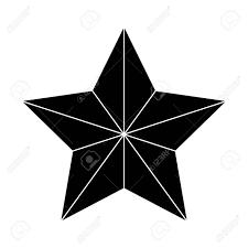 Symbolsymbol Silhouette Von Weihnachtsstern Bethlehem Vektor