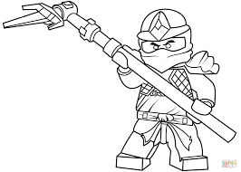 Ninjago Jay Coloring Pages With Lego Ninjago Cole Zx Coloring Page
