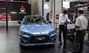 2018 mitsubishi lancer. wonderful mitsubishi a mitsubishi lancer ex at the beijing auto show in april 2016 in an  overall weak car market sold 14304 lancers us last year  intended 2018 mitsubishi lancer e