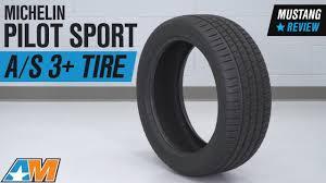 "1979-2018 Mustang <b>Michelin Pilot Sport A/S</b> 3+ Tire (19-20"") Review"