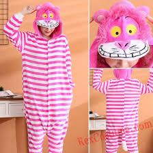 Kigurumi Onesie Size Chart Adult Cheshire Cat Kigurumi Onesie Pajamas Cosplay Costumes