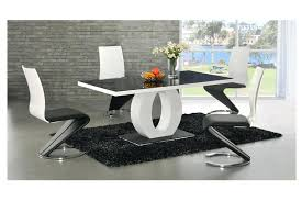 modern dining room table dining tables contemporary dining table sets contemporary dining room black gl top