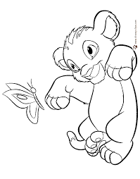 The Lion King Coloring Pages Disney Coloring Book Lion King Coloring