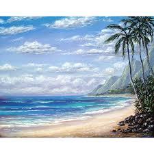 best 25 beach canvas paintings ideas on beach canvas beach scene canvas