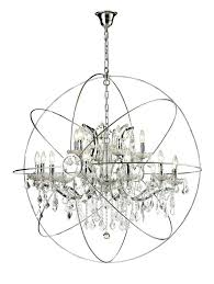 lambent sphere chandelier home decor enchanting metal orb with along lovely view anthropologies
