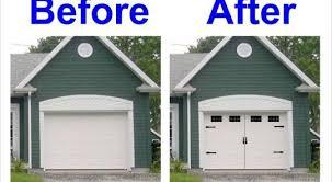 faux carriage garage doors. Simple Doors Faux Carriage Garage Doors Carriage Garage Doors Kits House Style Vinyl  Door Decal Kit Faux On