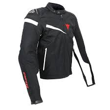 dainese veloster textile jacket black black white thumb 3