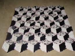 freeragquiltpatterns | Tumbling Block Rag Quilt/ Baby Blanket ... & freeragquiltpatterns | Tumbling Block Rag Quilt/ Baby Blanket - Quilters  Club of America Adamdwight.com