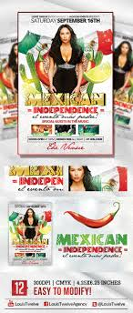 mexican independence flyer template by louistwelve design mexican independence flyer template holidays events