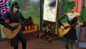 Mod The Sims: Lute by Esmeralda • Sims 4 Downloads | Sims medieval, Sims,  Sims 4